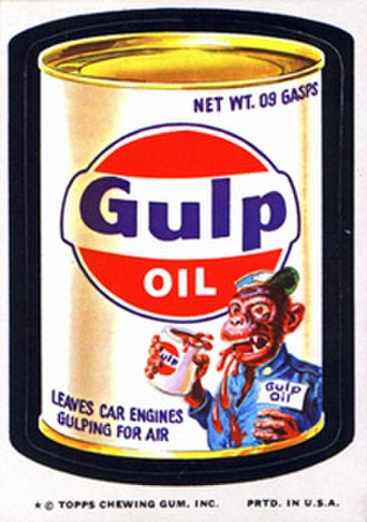 Wacky Packages - 11th series sticker (1974)
