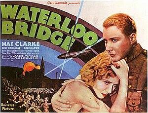 Waterloo Bridge (1931 film) - Theatrical release poster