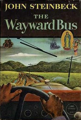 The Wayward Bus - First edition