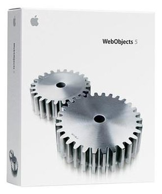 WebObjects - Image: Web Objects 5.2 packaging
