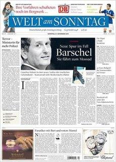 German Sunday newspaper