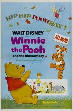 Winnie the Pooh and the Blustery Day - One of theatrical release posters