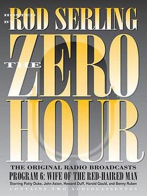 The Zero Hour (U.S. radio series) - Audiocassettes cover
