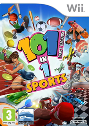 101-in-1 Sports Party Megamix - Image: 101 in 1 Sports Party Megamix Coverart
