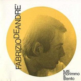 1968 studio album by Fabrizio De André
