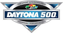Logo for the 2012 Daytona 500.