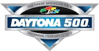 2012 Daytona 500 - Image: 2012 Daytona 500 logo