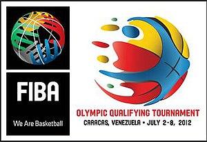 2012 FIBA World Olympic Qualifying Tournament for Men - Image: 2012 FIBA World Olympic Qualifying Tournament for Men logo