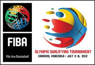 2012 FIBA World Olympic Qualifying Tournament for Men - Image: 2012 FIBA World Olympic Qualifying Tournament for Men logo