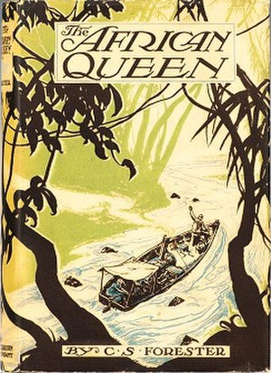 The African Queen (novel) - First edition cover  (publ. Little Brown)