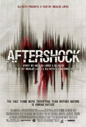 Aftershock (2012 film) - US theatrical release poster