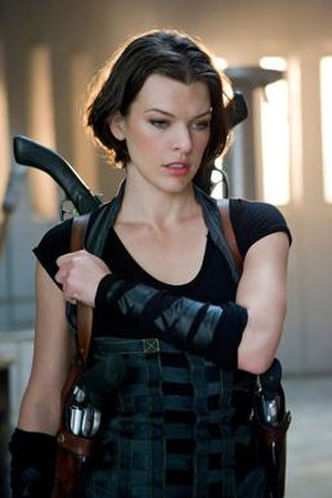 Alice (Resident Evil) - Milla Jovovich portraying Alice in Resident Evil: Afterlife.