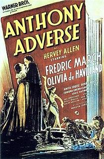 <i>Anthony Adverse</i> 1936 film directed by Mervyn LeRoy