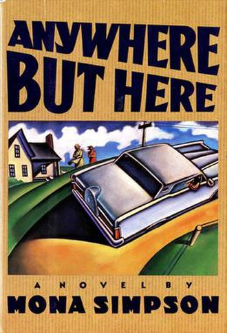 Anywhere but Here (novel) - Image: Anywhere But Here book cover