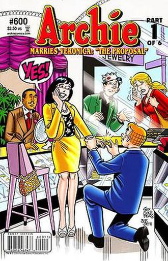 Archie Marries Veronica/Archie Marries Betty - Image: Archie 600