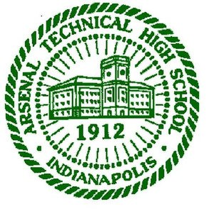 Arsenal Technical High School - Image: Arsenal Technical High School (crest)