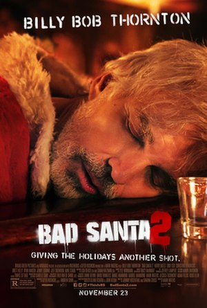 Bad Santa 2 - Theatrical release poster