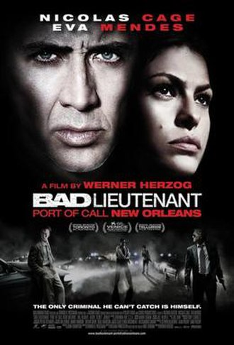Bad Lieutenant: Port of Call New Orleans - Theatrical release poster
