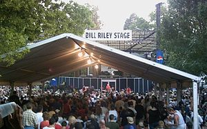 The Bill Riley Stage, during a performance by Joan Jett & The Blackhearts in 2006