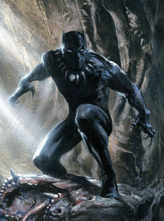 Black Panther (comics) comic book character, a superhero in the Marvel Comics universe