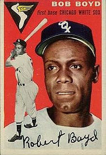 Bob Boyd (baseball) American baseball player