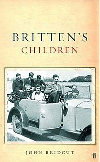 <i>Brittens Children</i> book by John Bridcut