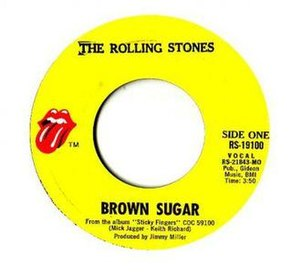 Brown Sugar (The Rolling Stones song) - Image: Brown Sugar