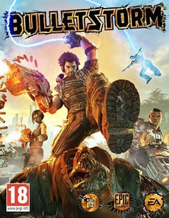 Bulletstorm - European box art
