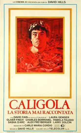 Caligula... The Untold Story - Image: Caligola la storia mai raccontata italian movie poster md