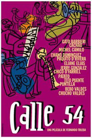Calle 54 - Theatrical poster
