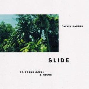"""Slide (Calvin Harris song) - Image: Calvin Harris """"Slide"""" single cover"""