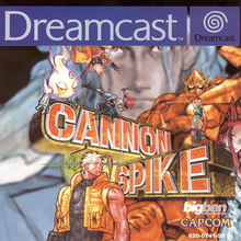 Cover of the Dreamcast version of Cannon Spike