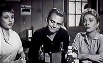 Hot Rod Girl - Carolyn Kearney, Frank Gorshin, and Lori Nelson (1956), in Hot Rod Girl