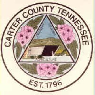 Carter County, Tennessee - Image: Carter County tn seal