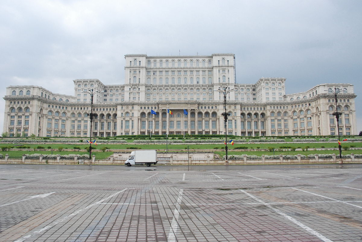 Biggest House In The World Inside palace of the parliament - wikipedia
