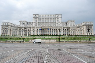 World's largest palace - Palace of the Parliament