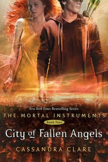 Cassandra Clare City of Fallen Angels book cover.jpg