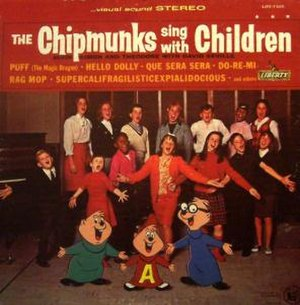 The Chipmunks Sing with Children - Image: Chipmunkssingwithchi ldrencv