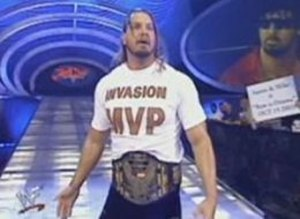 "Chris Kanyon - Kanyon as WCW United States Champion and ""The Alliance MVP"" during WWF's Invasion storyline in 2001"