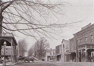 Churchville, New York - Main Street, 1895