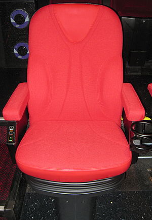 D-Box Technologies - A D-Box seat at TCL Chinese Theatre.