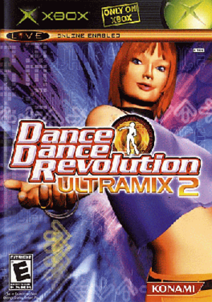 Dance Dance Revolution Ultramix 2 - Cover art