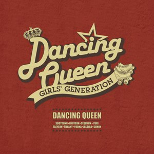 Dancing Queen (Girls' Generation song) - Image: Dancing Queen Single