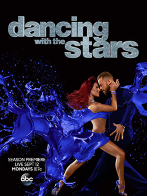 Dancing with the Stars (U.S. season 23) - Promotional poster, featuring pro dancers Sharna Burgess and Artem Chigvintsev