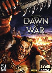 The box art for Dawn of War