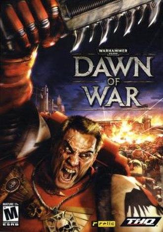 Warhammer 40,000: Dawn of War - Image: Dawn of War box art