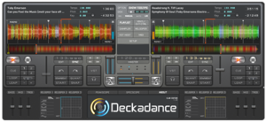 Deckadance 1.90.0 running on Windows