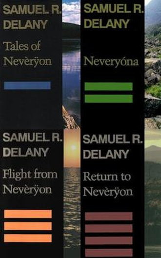 Return to Nevèrÿon (series) - Return to Nevèrÿon book covers