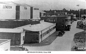 Denham Film Studios - Denham Film Studios, circa 1938