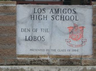Los Amigos High School - Los Amigos High: Den of the Lobos